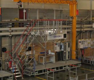 Passerelle de travail sur ligne de production - Devis sur Techni-Contact.com - 1