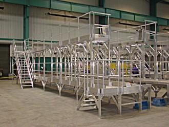 Passerelle industrielle en acier - Devis sur Techni-Contact.com - 1