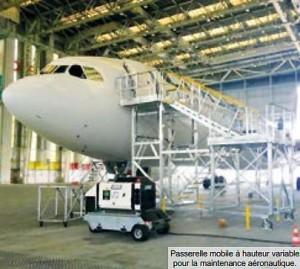 Passerelle maintenance aéronautique - Devis sur Techni-Contact.com - 2