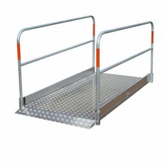 Passerelle piétons en aluminium - Devis sur Techni-Contact.com - 1