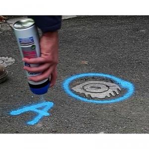 Peinture fluorescente marquage sol de chantier - Devis sur Techni-Contact.com - 5