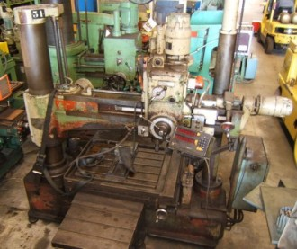 Perceuse radiale à blockage hydraulique - Devis sur Techni-Contact.com - 1
