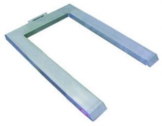 Pèse palette en u 600 à 2000 kg - Devis sur Techni-Contact.com - 1