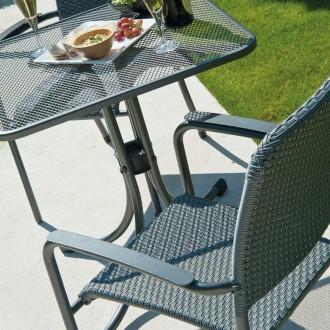 Petite table de jardin carrée - Devis sur Techni-Contact.com - 2