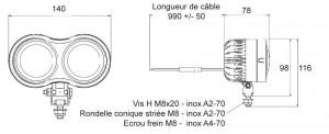 Phares de travail Belight LED - Devis sur Techni-Contact.com - 1