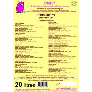 Fongicide Phosphatidylcholine ou Lecithine 2% - Devis sur Techni-Contact.com - 1