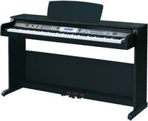 PIANO NUMERIQUE MC CRYPT DP-263 NOIR/BLA - Devis sur Techni-Contact.com - 1