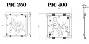 Pictogrammes transports d'enfants à coller - Devis sur Techni-Contact.com - 2