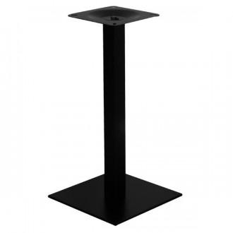 Pied de table base carrée en acier - Devis sur Techni-Contact.com - 1