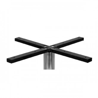 Pied de table en inox brossé pour plateau rond - Devis sur Techni-Contact.com - 2