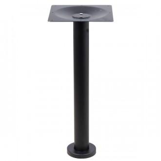 Pied de table fixe noir - Devis sur Techni-Contact.com - 1