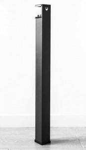 Pied de table haute en acier et plastique recyclable - Devis sur Techni-Contact.com - 1