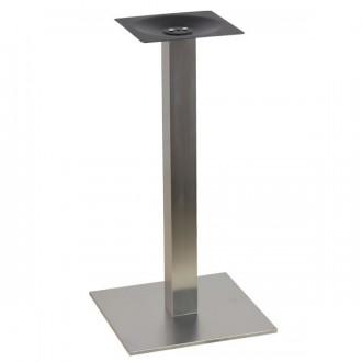 Pied de table haute en inox - Devis sur Techni-Contact.com - 1