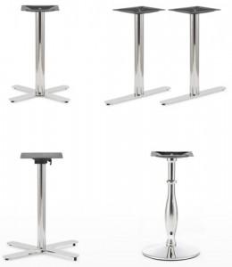Pied de table intérieur INOX - Devis sur Techni-Contact.com - 1