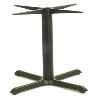 Pied de table noir 4 branches - Devis sur Techni-Contact.com - 3