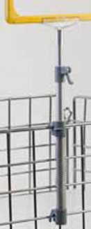 Pied téléscopique à ressort pour cadre d'affichage - Devis sur Techni-Contact.com - 2