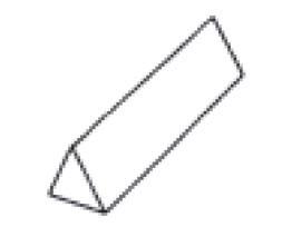 Pierre india médium triangulaire - Devis sur Techni-Contact.com - 1