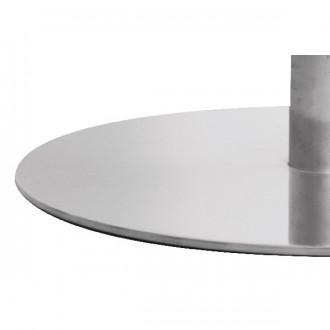 Piètement de table de restaurant en inox brossé - Devis sur Techni-Contact.com - 4
