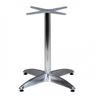 Piètement de table en aluminium à 4 branches - Devis sur Techni-Contact.com - 1