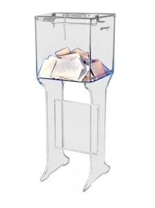 Piétement plexi pour urnes - Devis sur Techni-Contact.com - 1