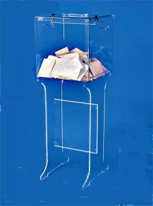 Piétement plexi pour urnes - Devis sur Techni-Contact.com - 2