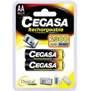 Pile rechargeable 1.2v 2300mah - Devis sur Techni-Contact.com - 1