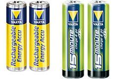 Pile rechargeable 1.5V - Devis sur Techni-Contact.com - 1