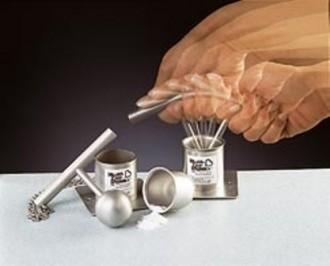 Pilon inox à coupelle amovible - Devis sur Techni-Contact.com - 1