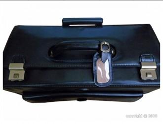 Pilot case en cuir noir - Devis sur Techni-Contact.com - 3