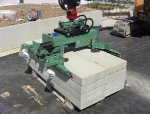 Pince de manutention bordure pour pelles chantier 5 à 16 tonnes - Devis sur Techni-Contact.com - 1