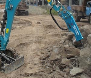Pince à rotateur hydraulique pour manutention chantier - Devis sur Techni-Contact.com - 1