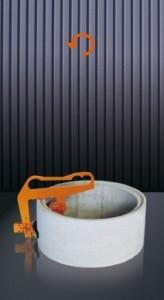 Pince levage tuyau béton - Devis sur Techni-Contact.com - 1