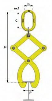 Pince lève-poutre - Devis sur Techni-Contact.com - 1