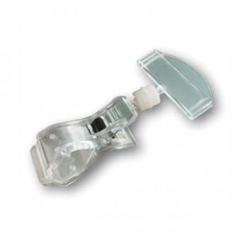 Pince porte étiquette articulée - Devis sur Techni-Contact.com - 1