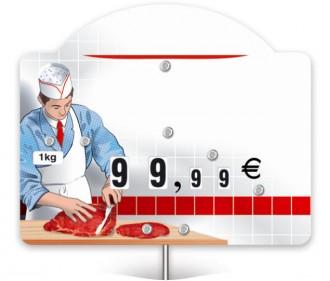 Pique prix boucherie charcuterie - Devis sur Techni-Contact.com - 1