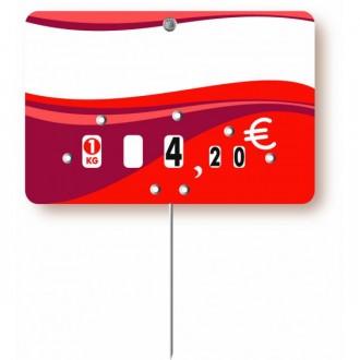 Pique prix boucherie et charcuterie - Devis sur Techni-Contact.com - 1