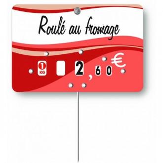 Pique prix boucherie et charcuterie - Devis sur Techni-Contact.com - 4