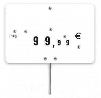 Pique-prix en PVC - Devis sur Techni-Contact.com - 1