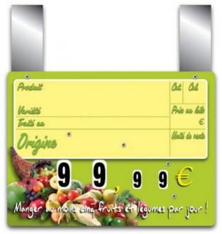 Pique prix fruits légumes - Devis sur Techni-Contact.com - 1