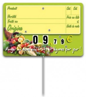 Pique prix fruits légumes - Devis sur Techni-Contact.com - 2