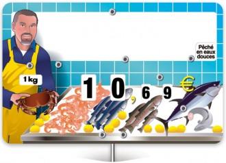 Pique prix poissonnerie - Devis sur Techni-Contact.com - 2