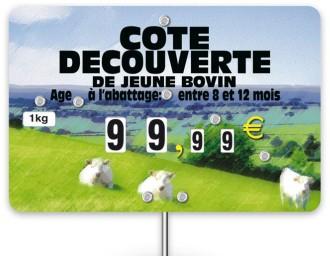 Pique prix viande bovine - Devis sur Techni-Contact.com - 1