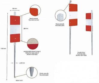 Piquets de chantier K5B - Devis sur Techni-Contact.com - 2