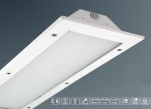 Plafonnier encastrable LED antivandalisme - Devis sur Techni-Contact.com - 1