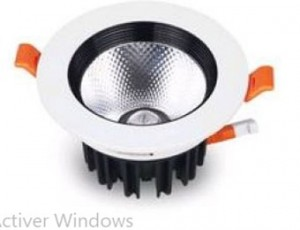 Plafonnier LED aluminium - Devis sur Techni-Contact.com - 1