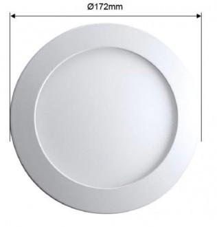 Plafonnier LED extra plat rond 12 Watts - Devis sur Techni-Contact.com - 3
