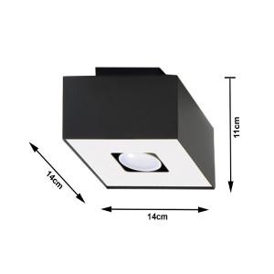 Plafonnier Mono 1 SOLLUX - Devis sur Techni-Contact.com - 4