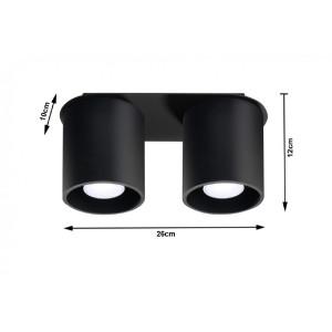 Plafonnier Orbis 2 SOLLUX - Devis sur Techni-Contact.com - 3