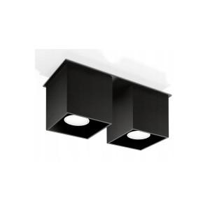 Plafonnier Quad 2 SOLLUX - Devis sur Techni-Contact.com - 1