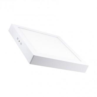 Plafonnier saillie Blanc carré et rond - Devis sur Techni-Contact.com - 1